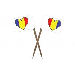 Scobitori cu Stegulet Romania Inima Clasic