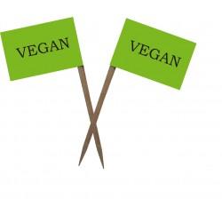 """Scobitoare cu Stegulet """"Vegan"""" - NEGRU"""