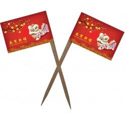 Scobitoare cu Stegulet AN NOU CHINEZESC M1