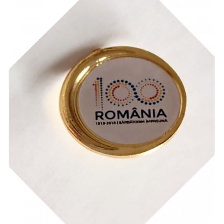Insigna Romania 100 de ani
