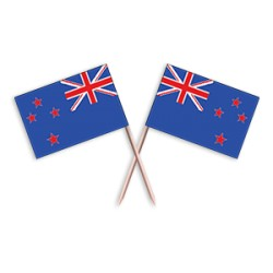 Scobitoare cu Stegulet Noua Zeelanda