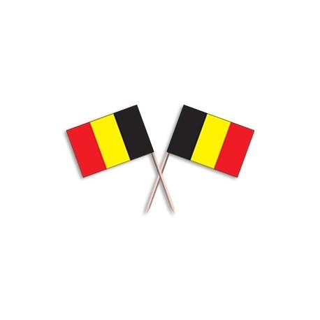Scobitoare cu stegulet Belgia